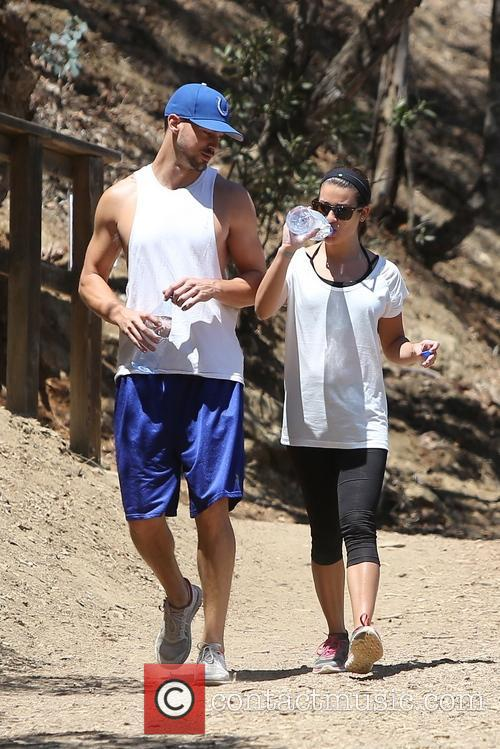 Lea Michele and Matthew Paetz 17