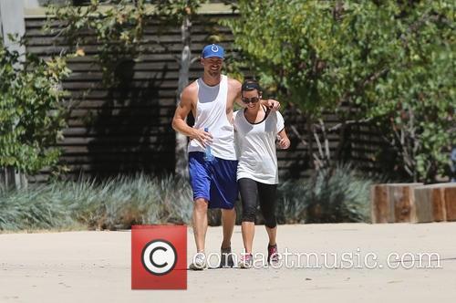 Lea Michele and Matthew Paetz 18