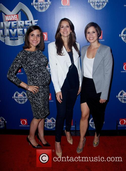 Juliette Feld, Nicole Feld and Alana Feld 2
