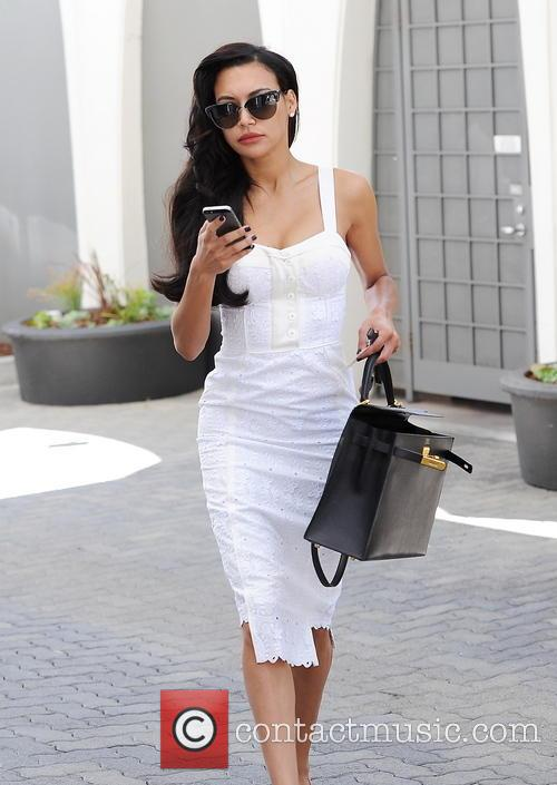 Naya Rivera is dressed business ready