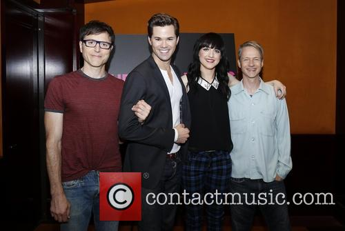 Stephen Trask, Andrew Rannells, Lena Hall and John Cameron Mitchell