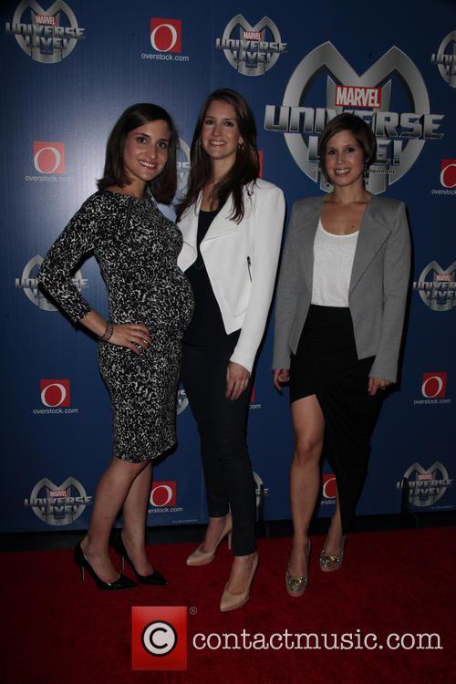Juliette Feld, Nicole Feld and Alana Feld 1