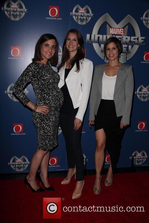 Juliette Feld, Nicole Feld and Alana Feld 3