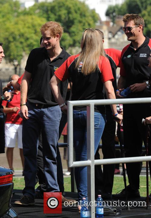 Prince Harry attends a photocall ahead of the Invictus Games