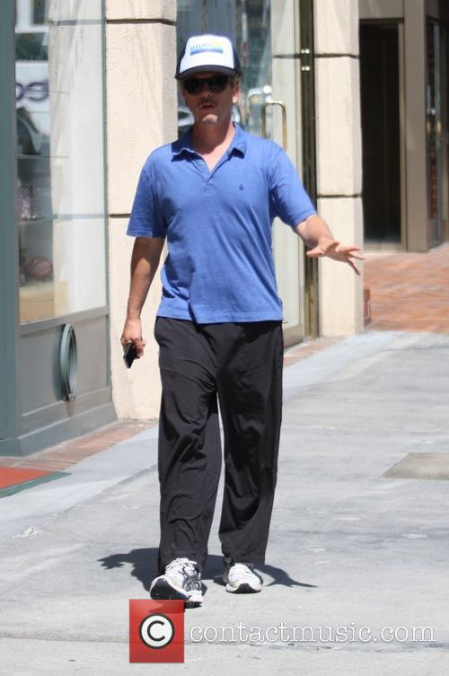David Spade goes to the doctors office in Beverly Hills