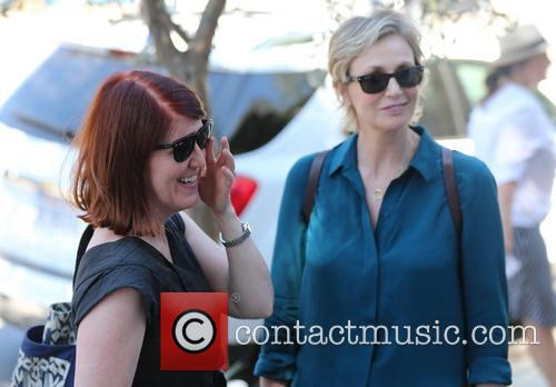 Jane Lynch and Kate Flannery 2