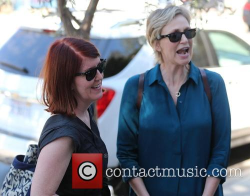 Jane Lynch and Kate Flannery 3