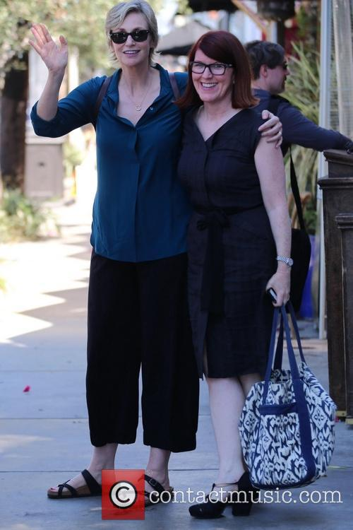 Jane Lynch and Kate Flannery 5