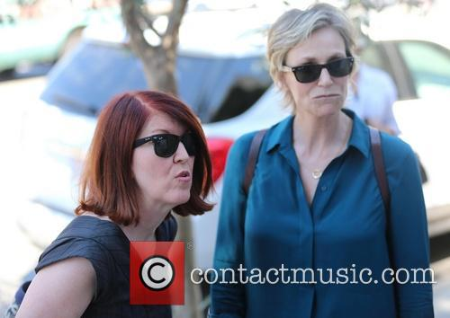 Jane Lynch and Kate Flannery 6