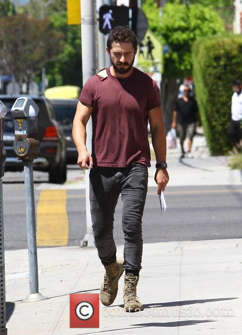 Shia LaBeouf out and about