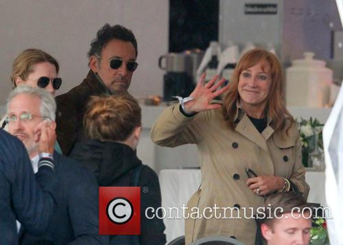 Bruce Springsteen at the Longines Global Champions Tour