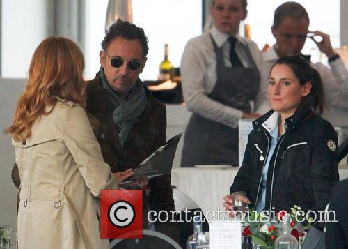 Bruce Springsteen, Patti Scialfa and Jessica Springsteen 6