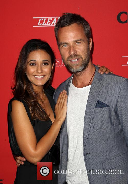 Emmanuelle Chriqui and Jr Bourne