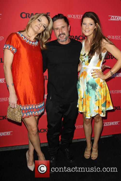 Missi Pyle, David Arquette and Meredith Pyle 2