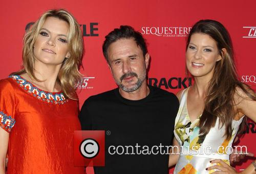 Missi Pyle, David Arquette and Meredith Pyle 4