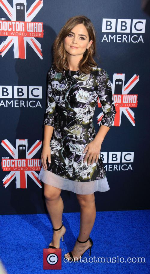 Dr Who and Jenna Coleman