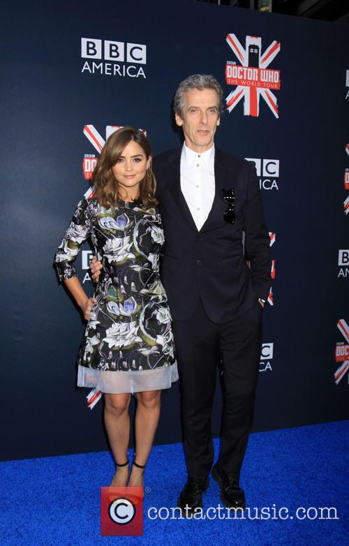 Peter Capaldi and Jenna Coleman 2