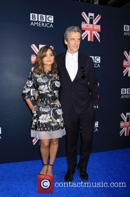 Peter Capaldi and Jenna Coleman 3