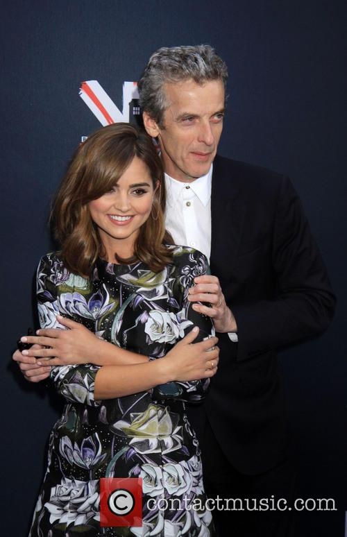 Peter Capaldi and Jenna Coleman 1