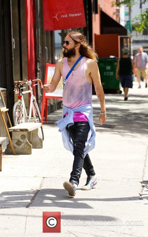 Jared Leto spotted walking around Nolita