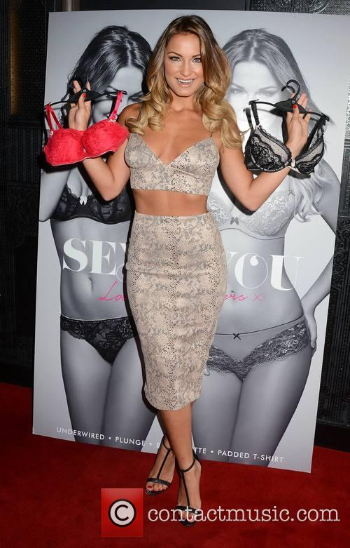 Sam Faiers promotes her new lingerie range 'Sexy...