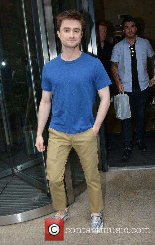 Daniel Radcliffe visits Today FM in Dublin
