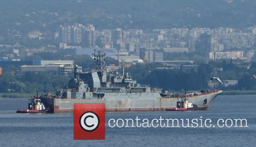 Russian landing ship Caesar Kunikov repaired in Bulgaria
