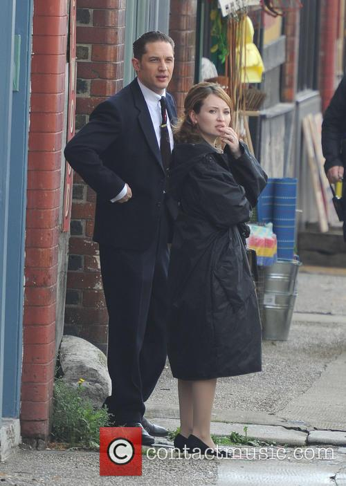 Tom Hardy and Emily Browning 4