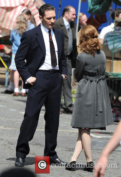 Tom Hardy and Emily Browning 5