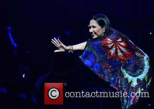 Ana Gabriel performs at the James L. Knight...