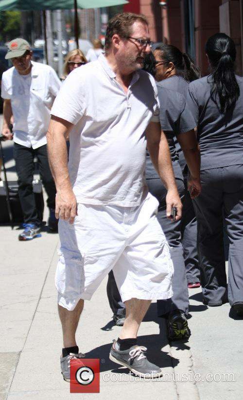 Stephen Root shops in Beverly Hills