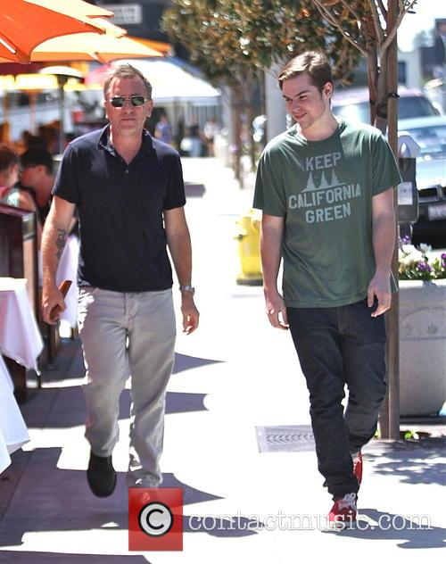 Tim Roth shops in Hollywood