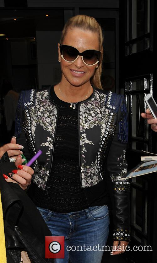 Anastacia pictured at BBC Radio 2