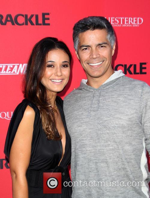 Emmanuelle Chriqui and Esai Morales