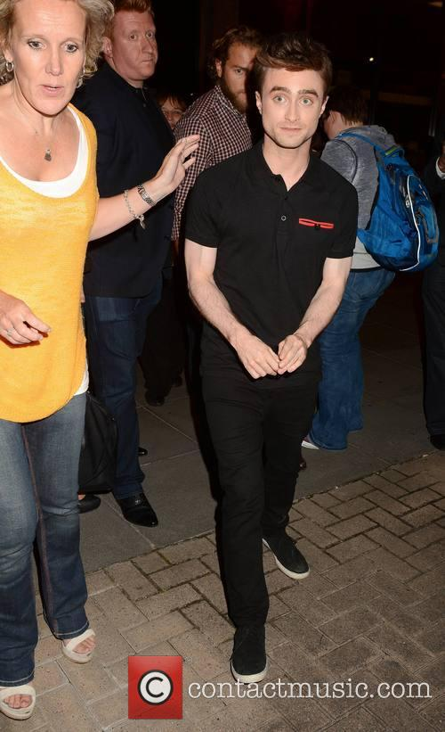 daniel radcliffe guests arrive at the miriam 4327125