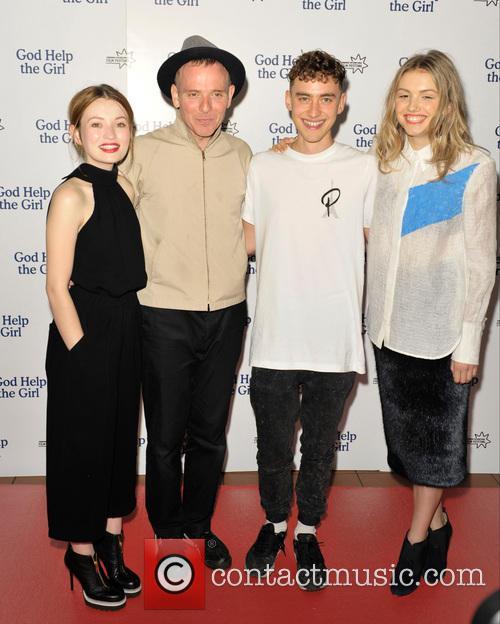 Emily Browning, Stuart Murdoch, Olly Alexander and Hannah Murray 2