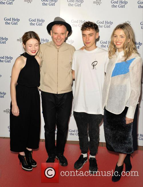 Emily Browning, Stuart Murdoch, Olly Alexander and Hannah Murray 4
