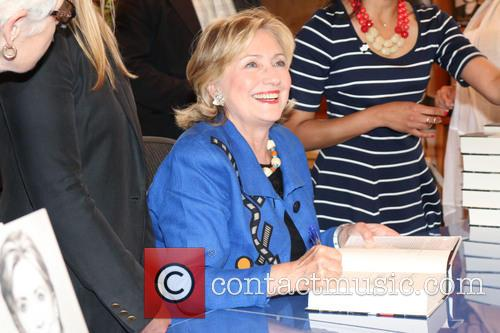 Hilary Rodham Clinton book signing