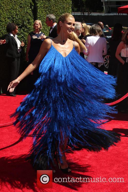 Heidi Klum, Nokia Theatre L.A. Live, Emmy Awards