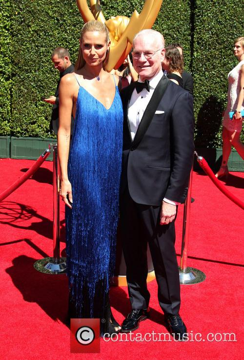 Heidi Klum and Tim Gunn 3