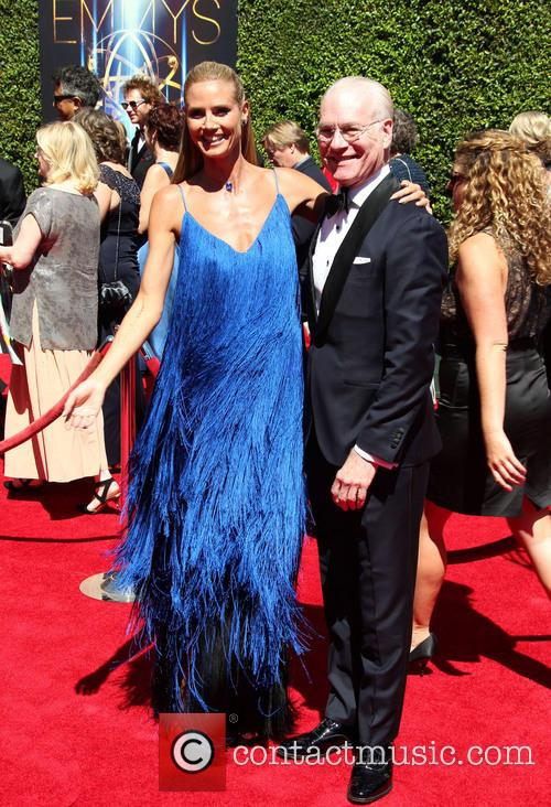 Heidi Klum and Tim Gunn 6