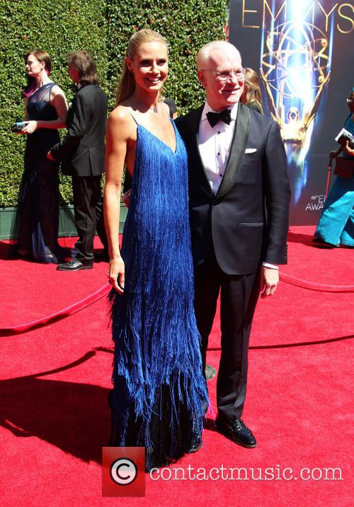 Heidi Klum and Tim Gunn 10