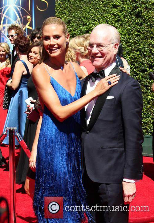 Heidi Klum, Tim Gunn, Nokia Theatre L.A. Live, Emmy Awards