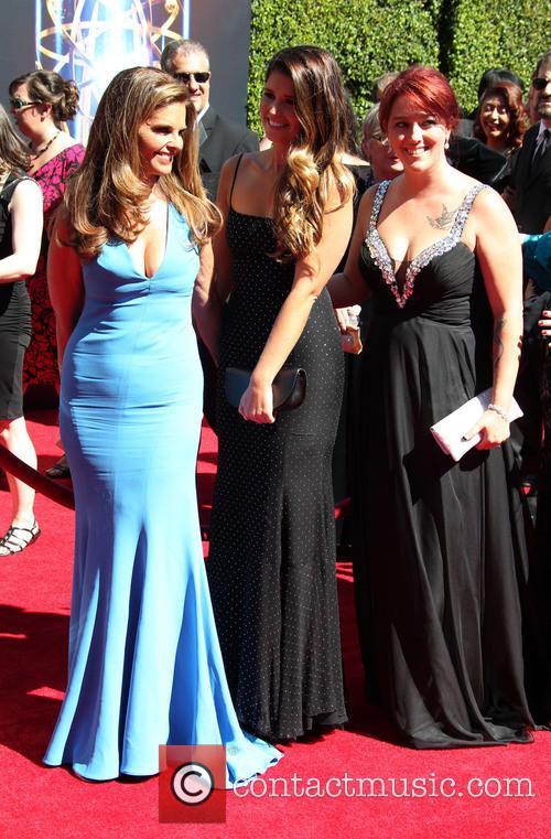 Maria Shriver and Katherine Schwarzenegger 3