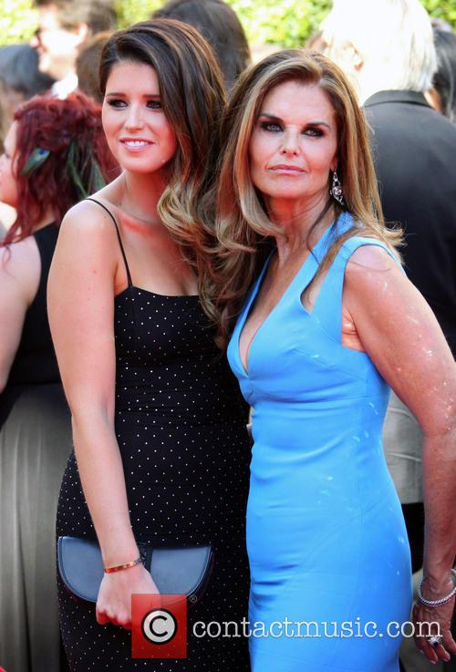 Maria Shriver and Katherine Schwarzenegger 1