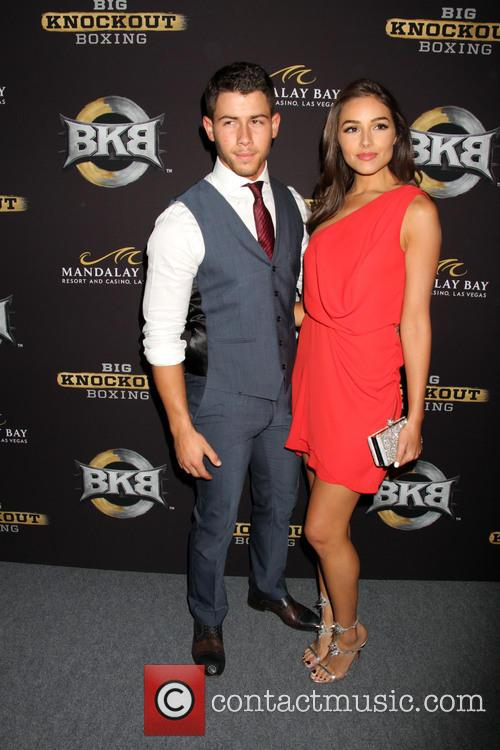 Nick Jonas and Olivia Culpo 3
