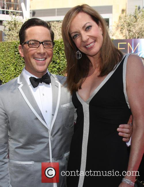 Dan Bucatinsky and Allison Janney