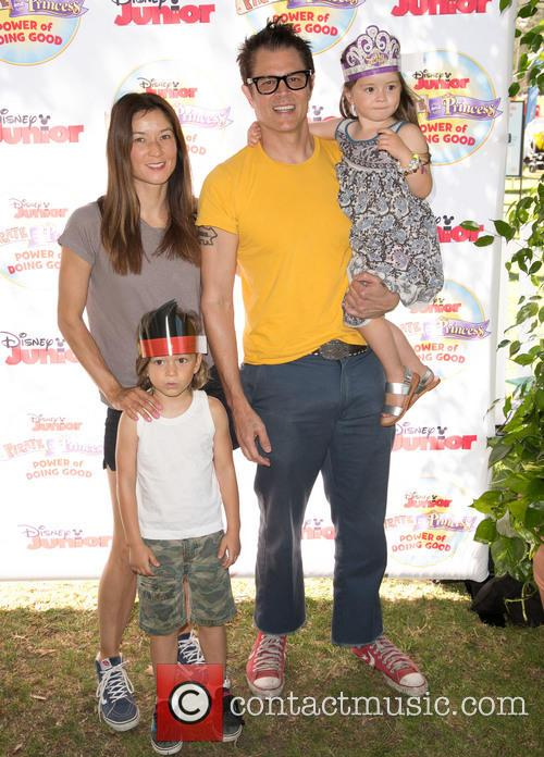 Johnny Knoxville, Naomi Nelson, Rocko Clapp and Arlo Clapp 1