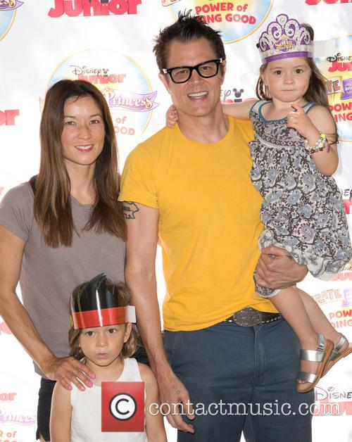 Johnny Knoxville, Naomi Nelson, Rocko Clapp and Arlo Clapp 2