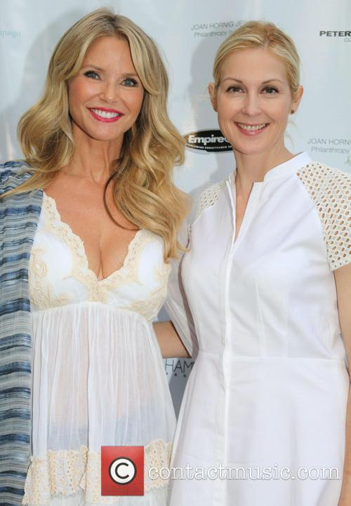 Christie Brinkley and Kelly Rutherford